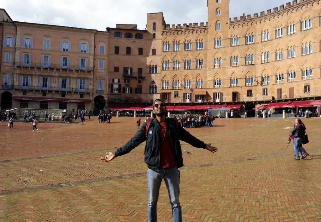 La Piazza del Campo Sienne