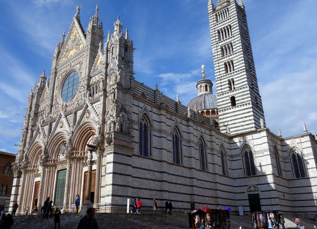 La cathédrale DI SANTA MARIA ASSUNTA Sienne