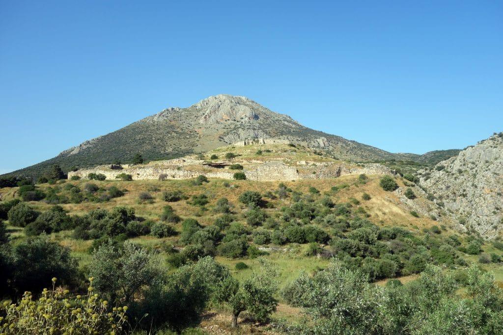 site archéologique de mykenes