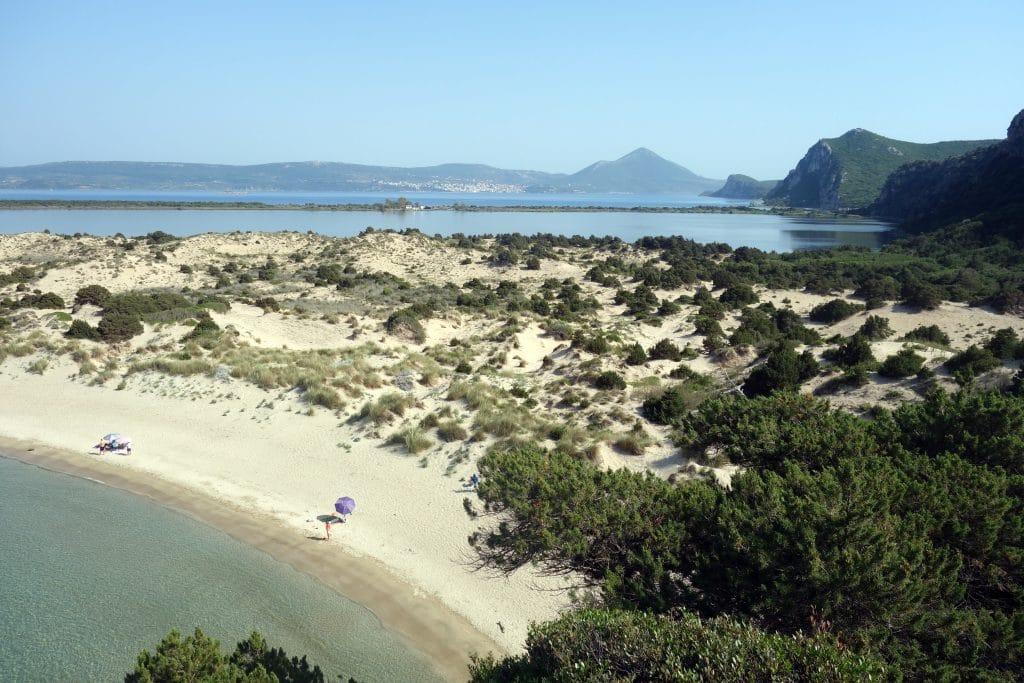plus belle plage du péloponnése