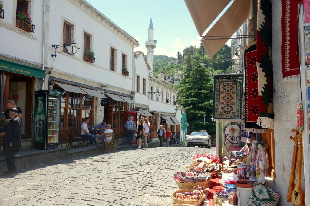 vieille ville de gjirokaster