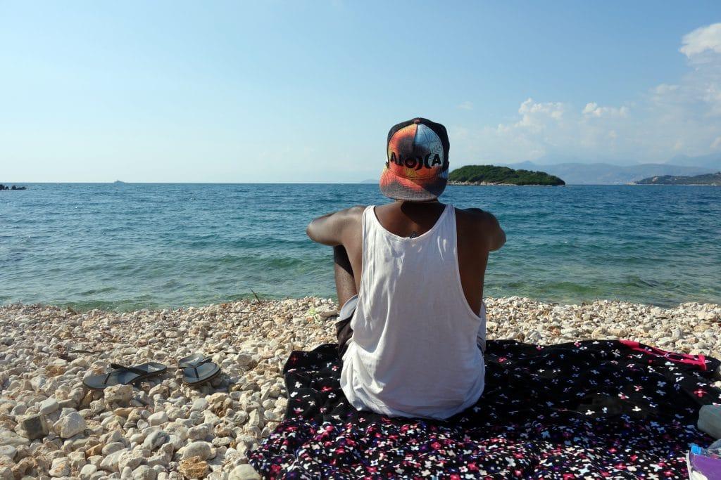 plage de galet albanie