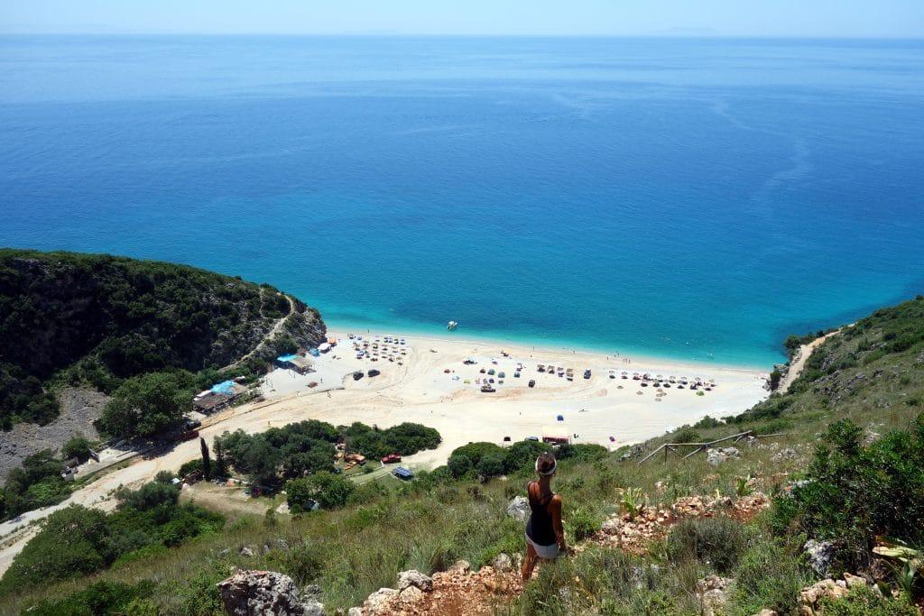 gipje beach albanie