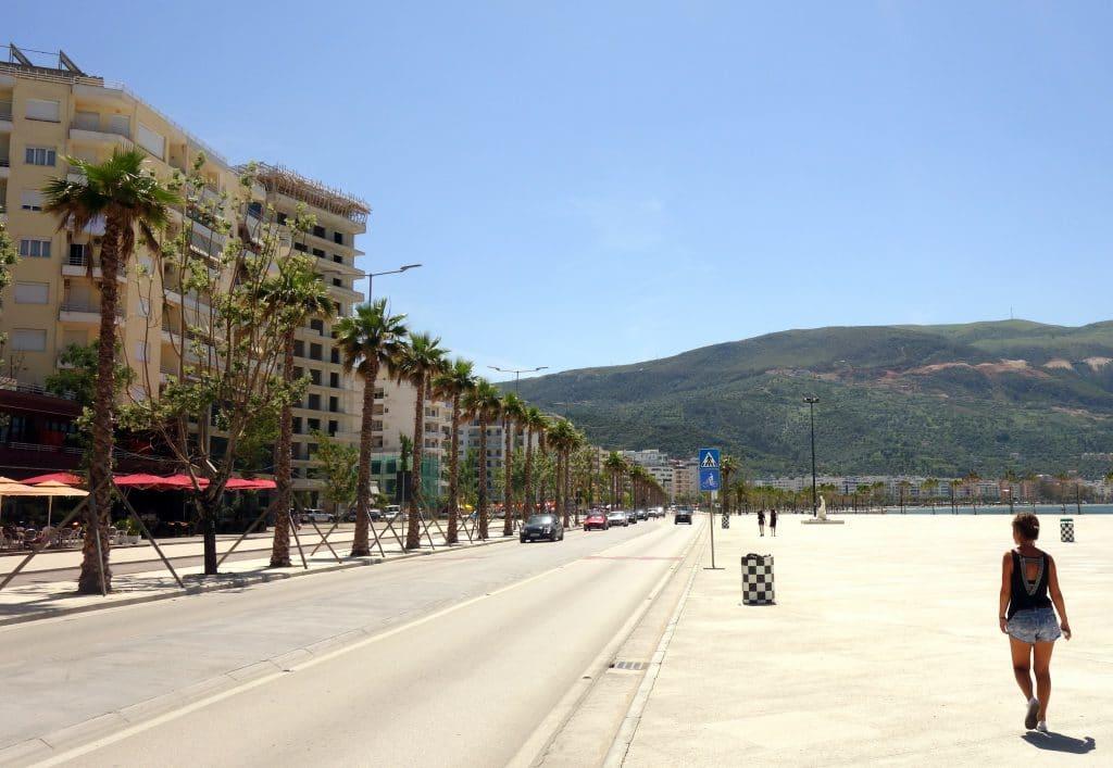 front de mer de Vlorë