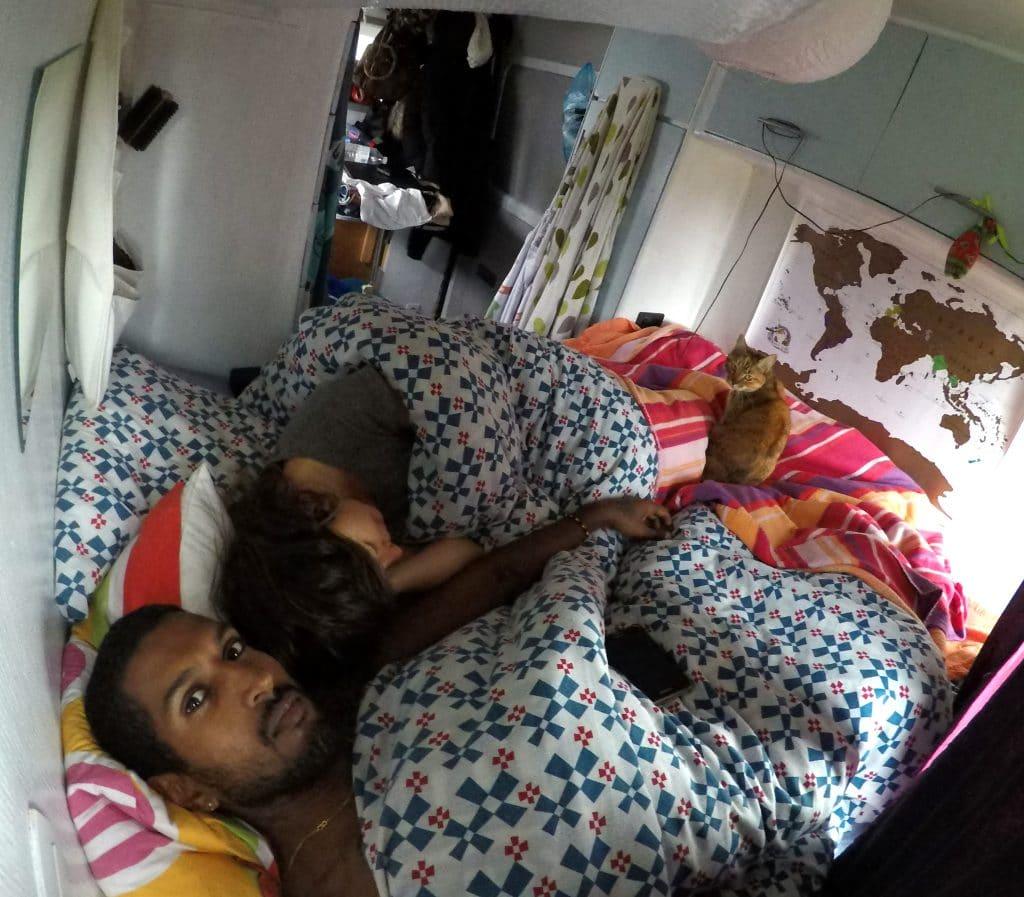 dormir dans un van