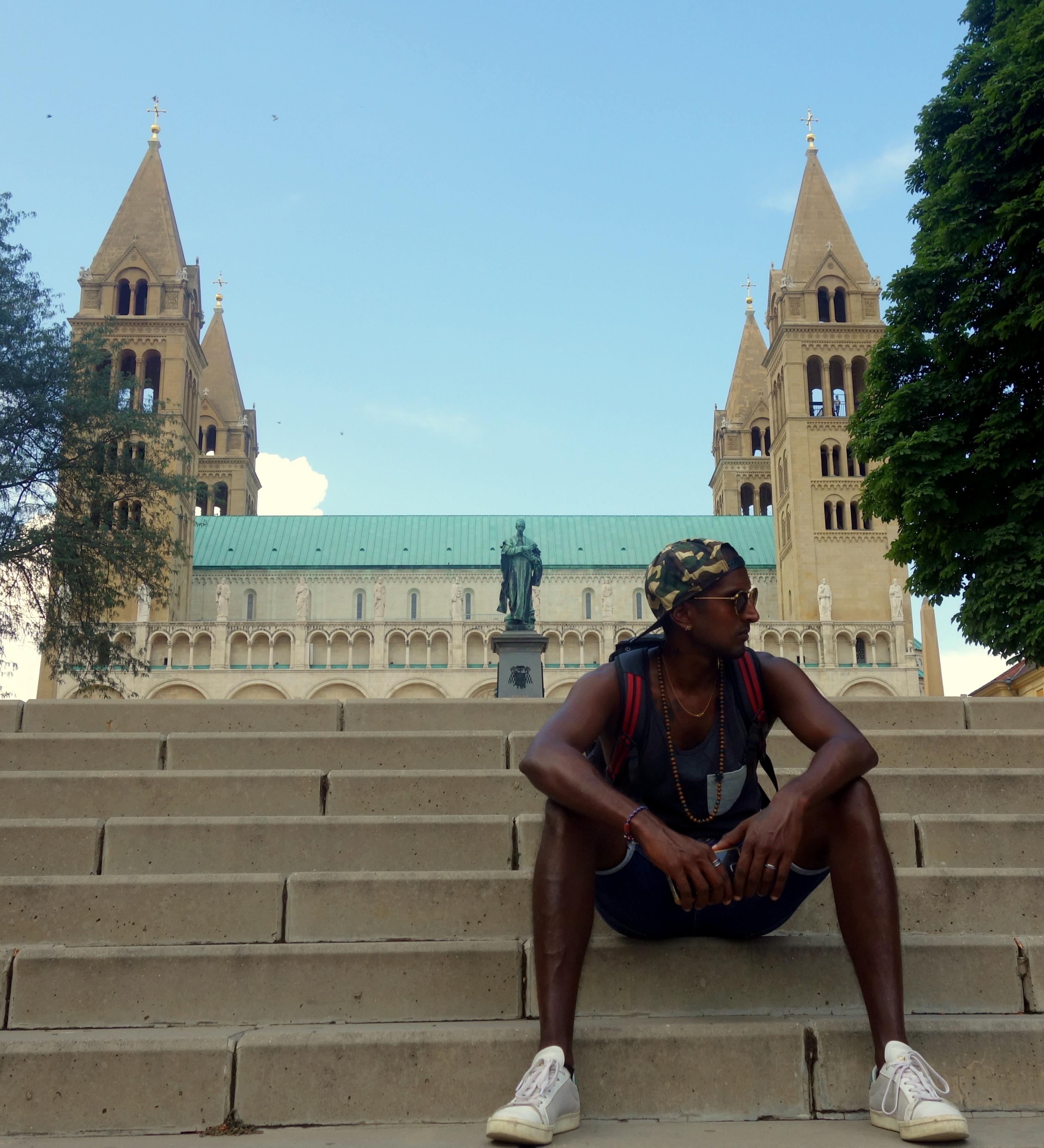 la cathédrale de Pecs