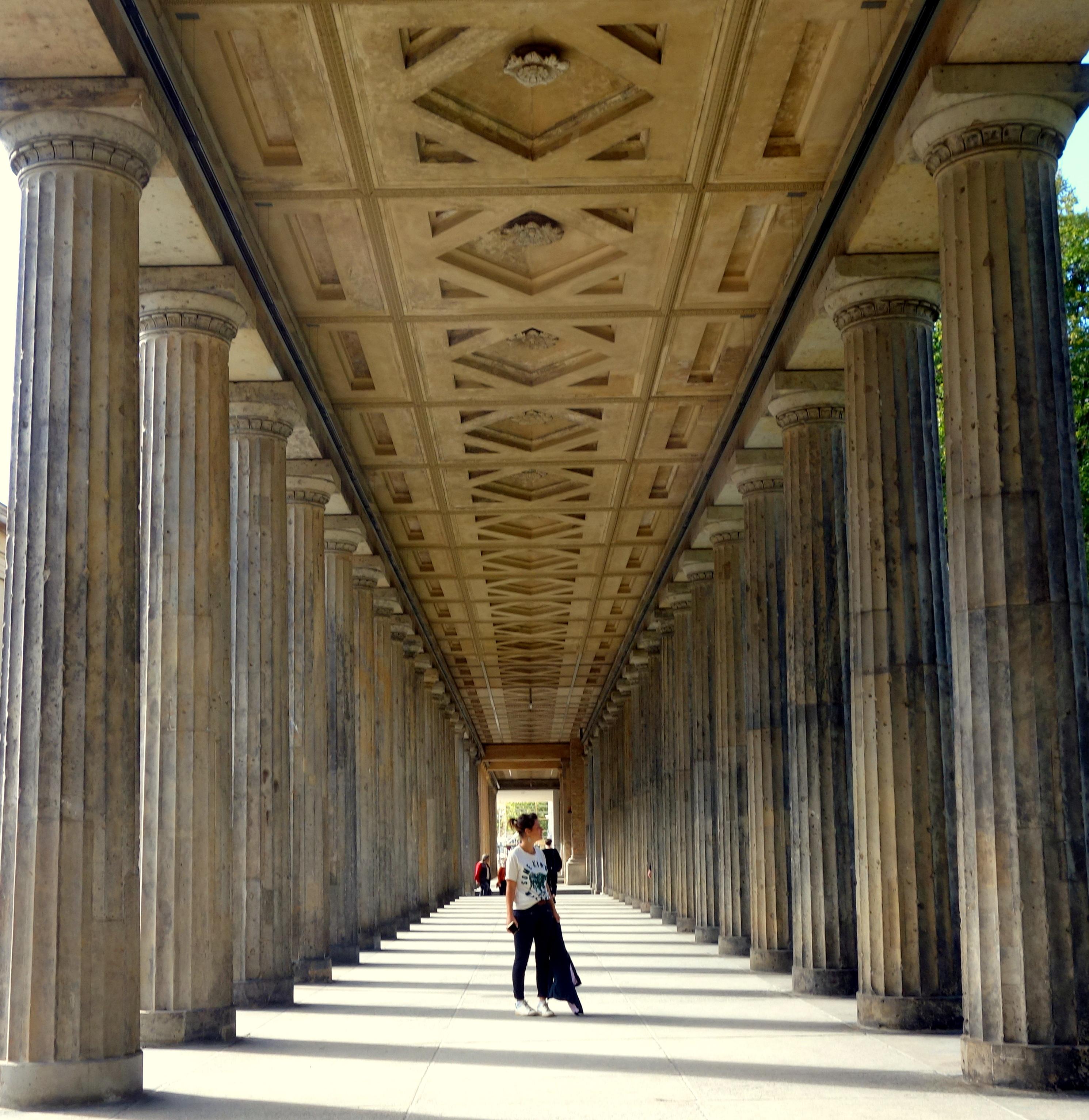 Les colonnes de la national gallery