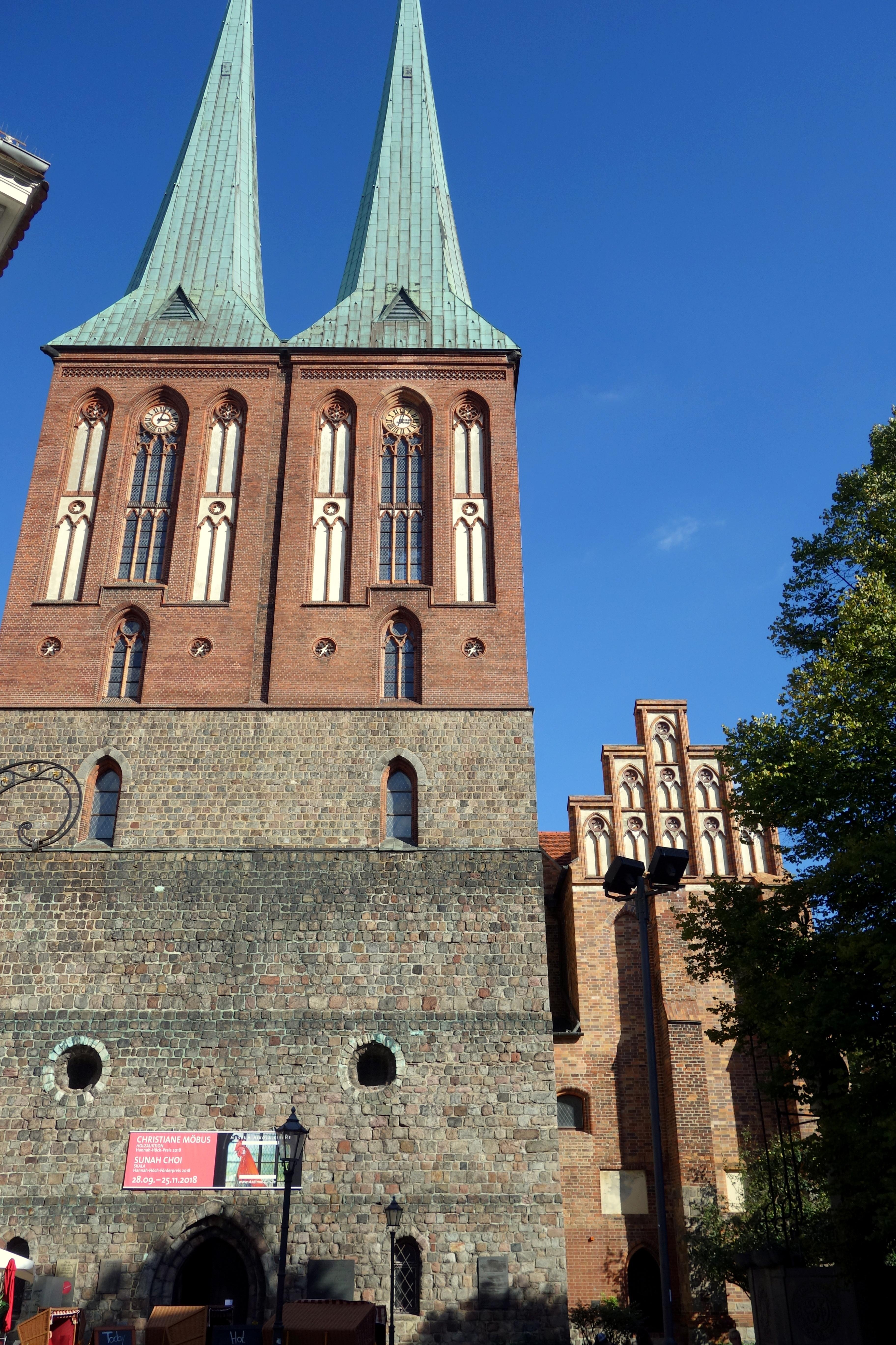 La vieille église du quartier Nikolaïvirtel