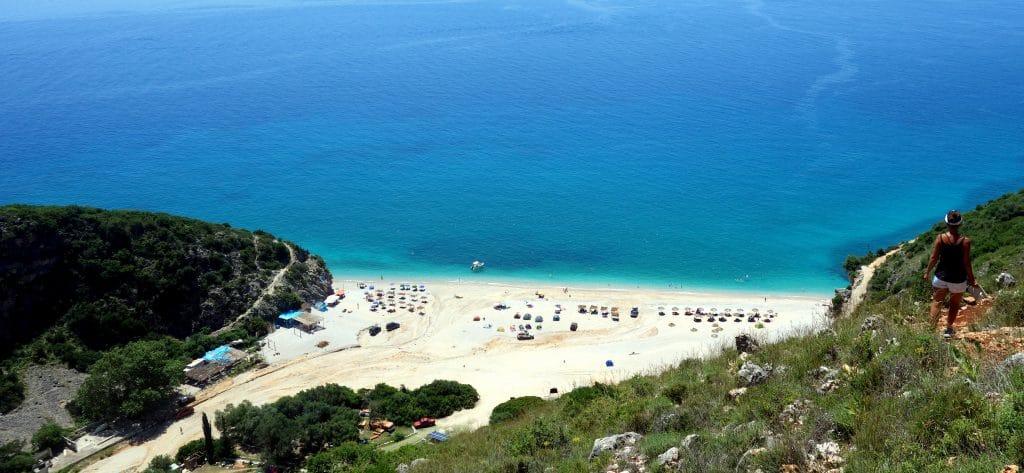 gipje Beach : magnifique plage de la côte adriatique