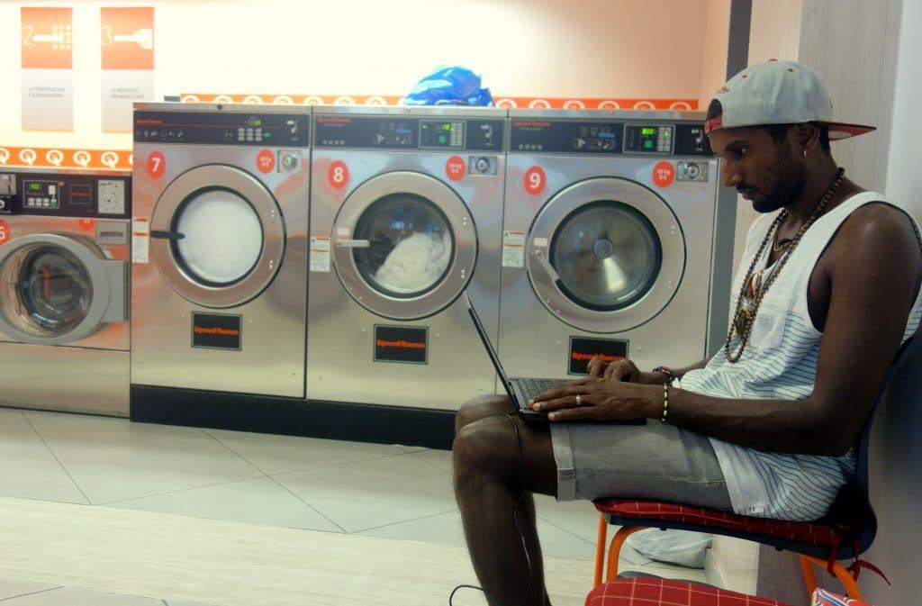 Laverie automatique en Slovénie
