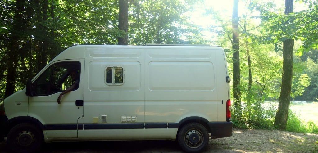 A bord de notre van