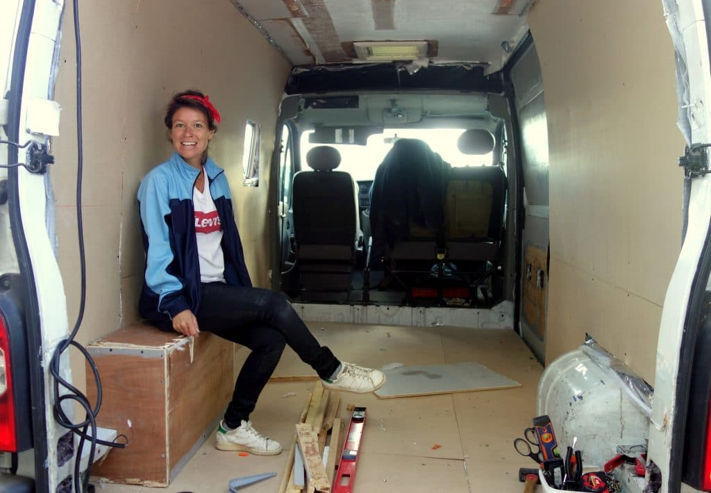 réaménagement de van