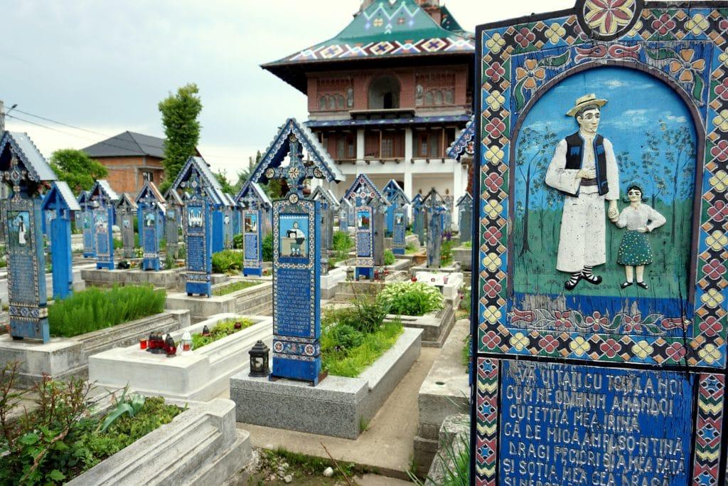 cimetière joyeux de roumanie