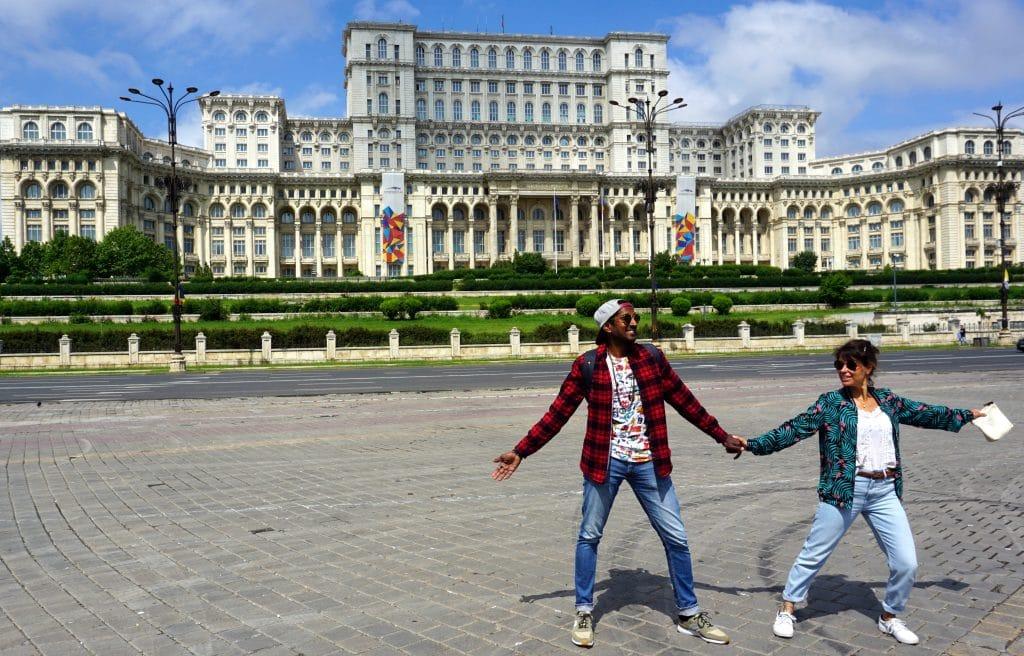 Le Palais du Parlement Bucarest