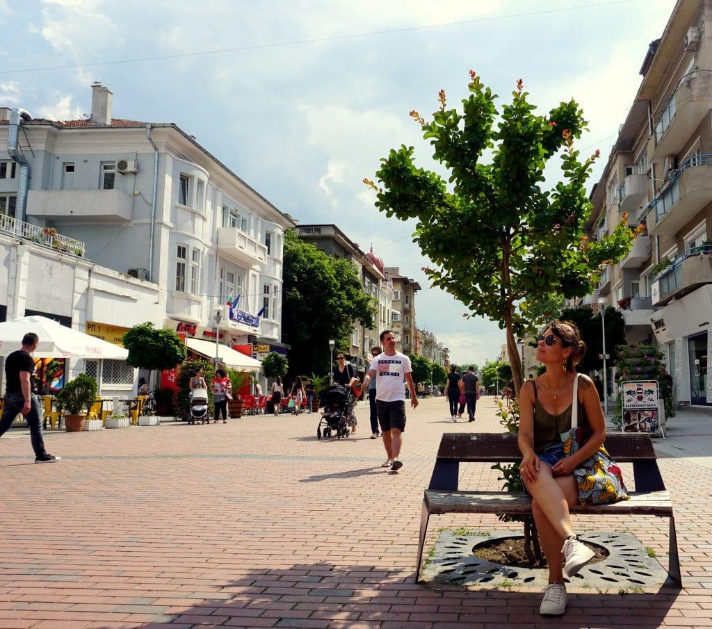 Varna grande ville du littoral bulgare de la mer noire