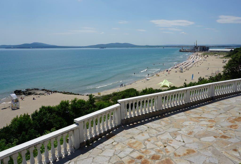 Bourgas ville côtière de la mer noire