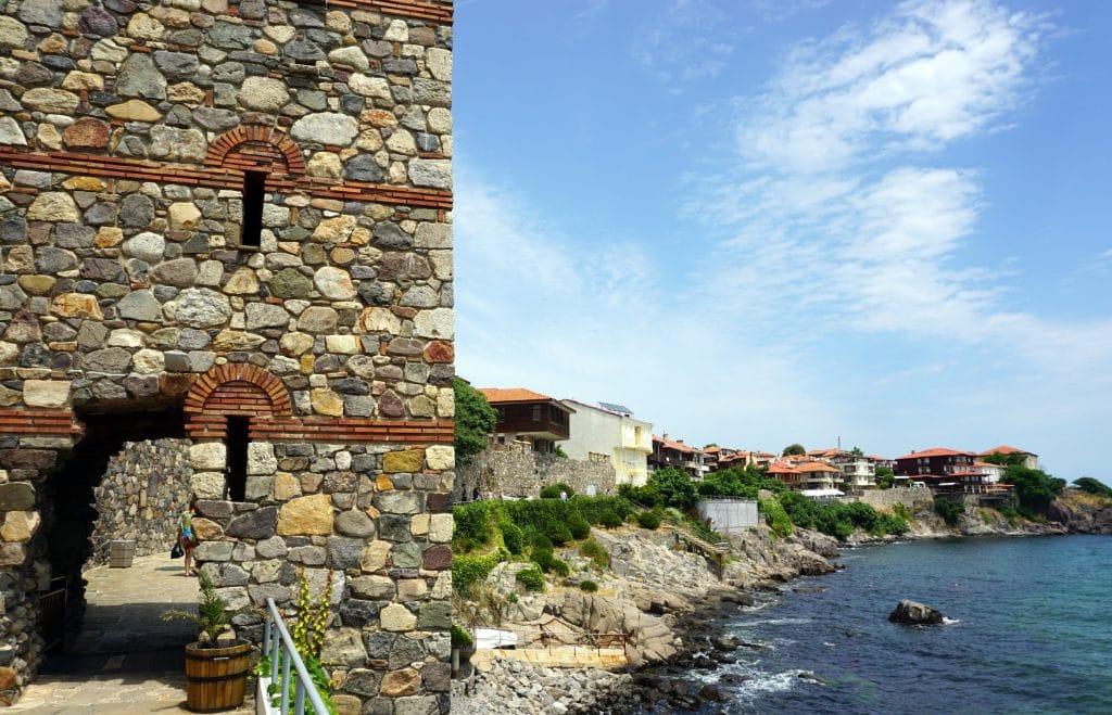 Sozopol au sud du littoral bulgare de la mer noire