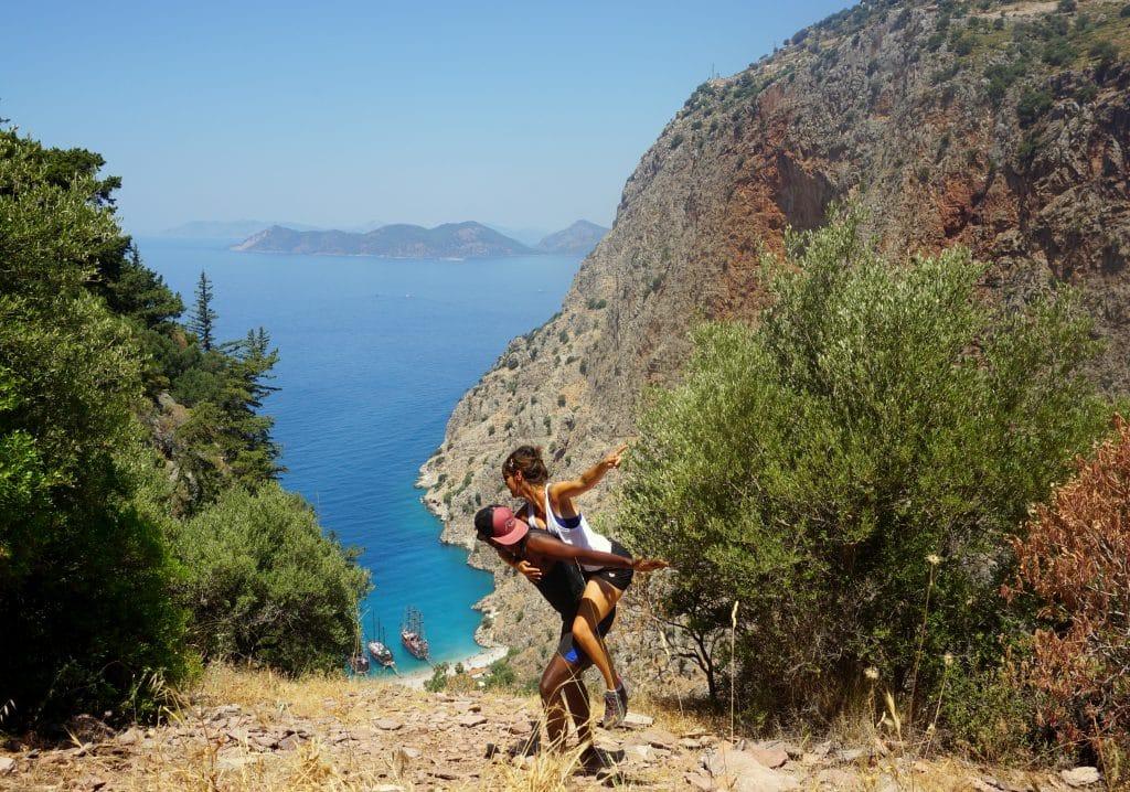 Butterfly valley : plage paradisiaque de la côte Lycienne