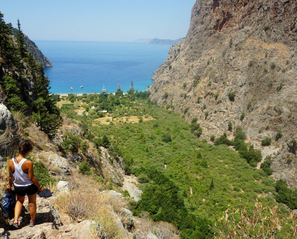 Randonnée de la côte Lycienne jusqu'à la butterfly valley