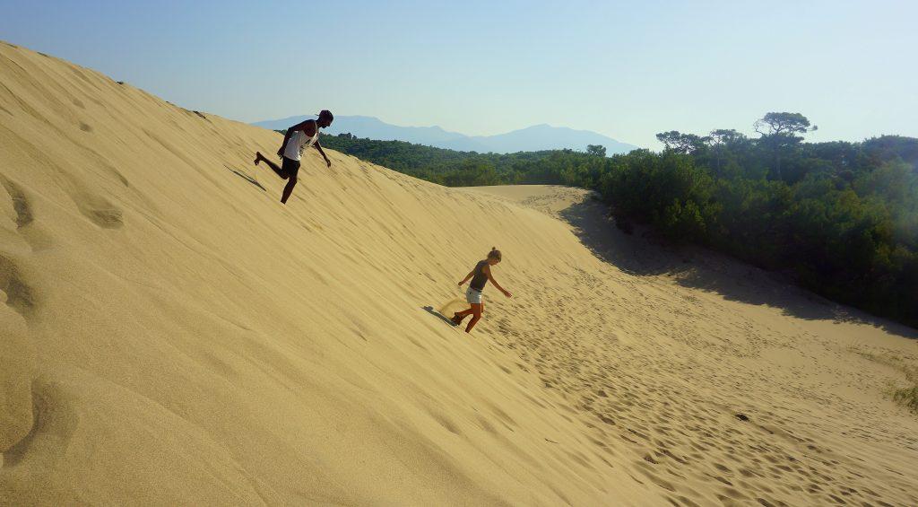les dunes de Pataras à quelques kilomètres de fethye