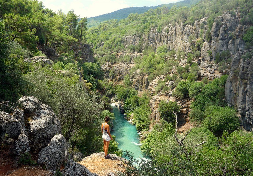 Köprülü canyon à quelques kilomètres d'Antalya