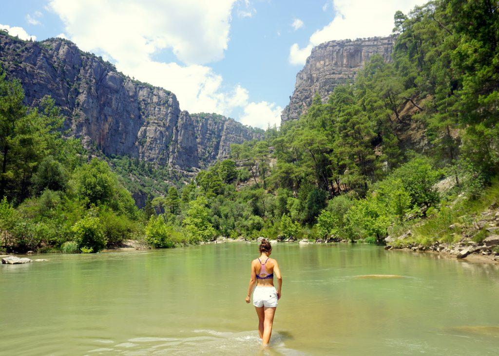 Le Canyon de köprülû à quelques kilomètres d'antalya