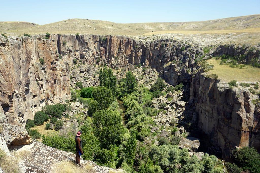 Ilhara Valley dans la cappadoce
