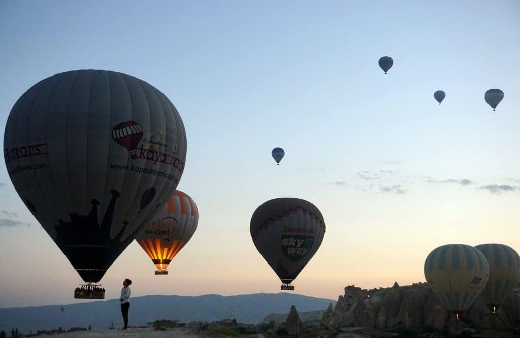 montgolfières de la cappadoce