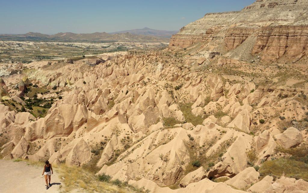 La red Valley de la Cappadoce