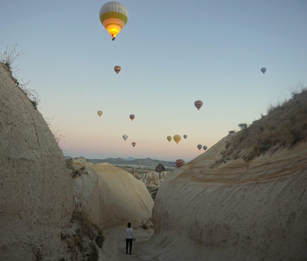 montgolfières des cappadoce