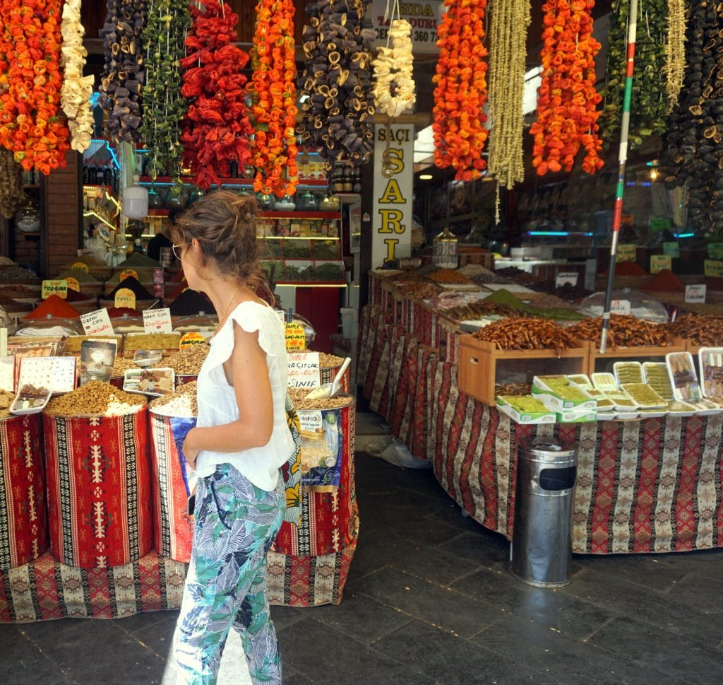 marché aux épices de gaziantep