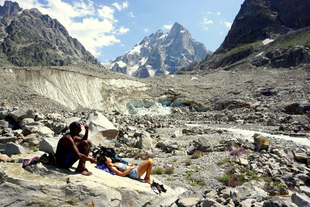 Randonnée Géorgie glacier Ushba