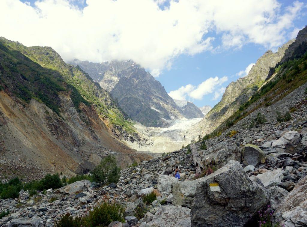 Randonnée glacier Géorgie