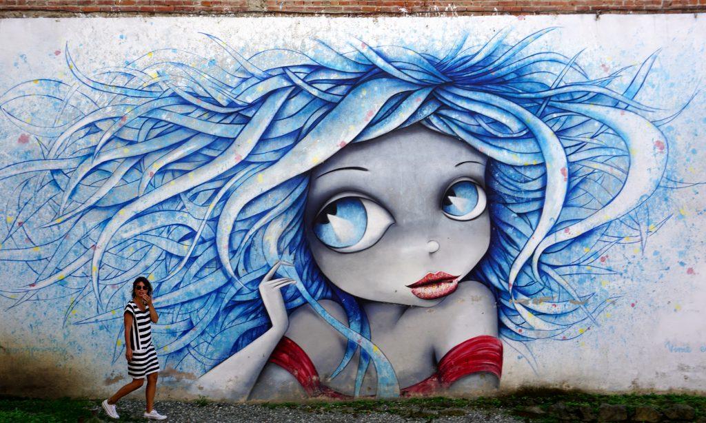 street art à Koutaïssi en géorgie