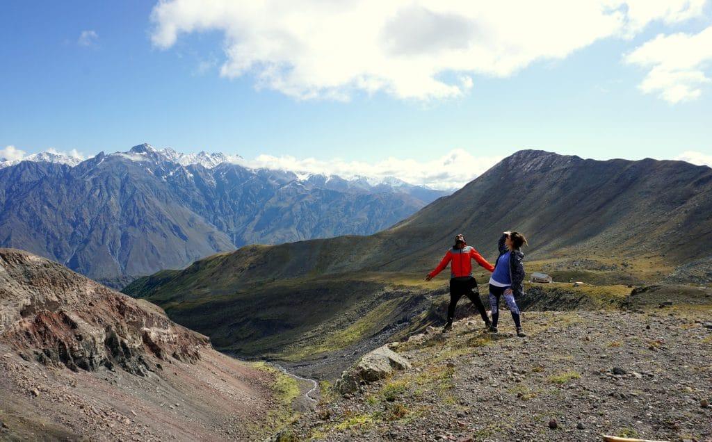 randonnée Géorgie kazbegi