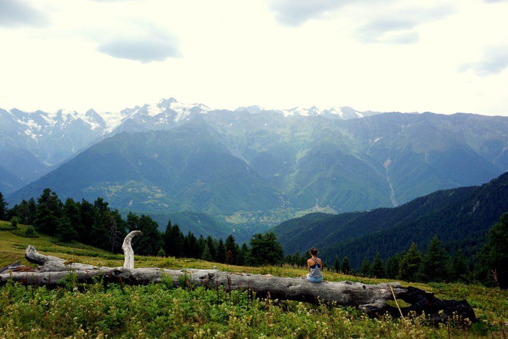 le parc national de svaténie en géorgie