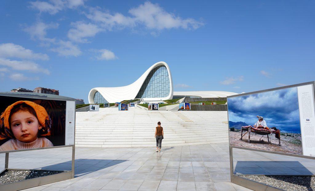 le musée Zaha Hadid de Bakou