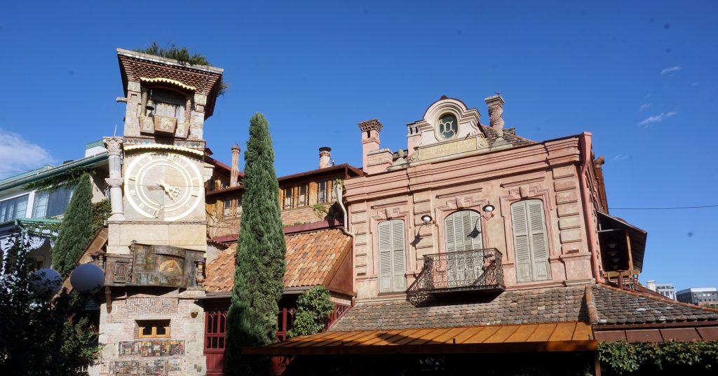clock tower de Tblissi