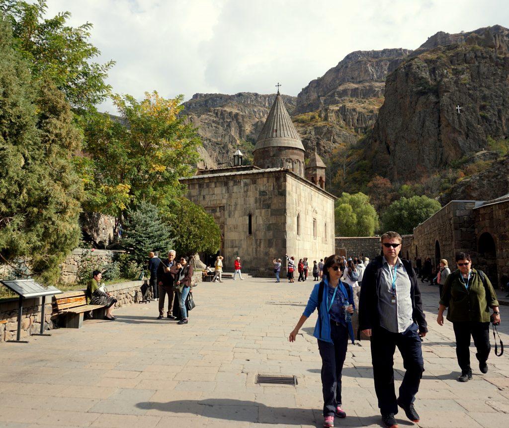 monastère de Gheghard à côté d'erevan