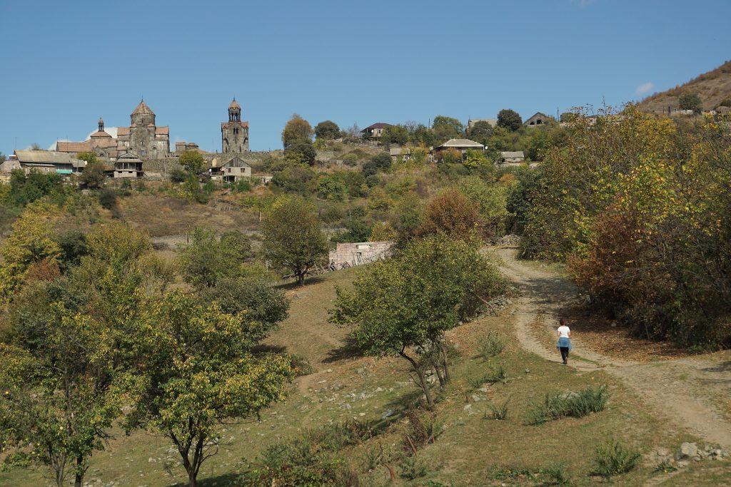 Arménie le monastère d'aghpat