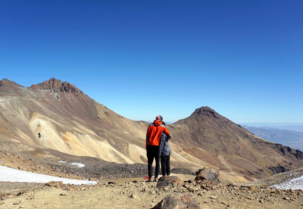 arménie sommet du mont aragat