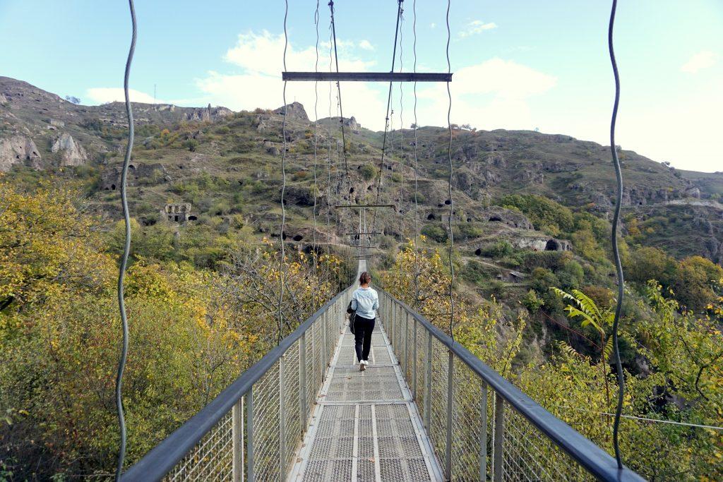 arménie pont suspendu