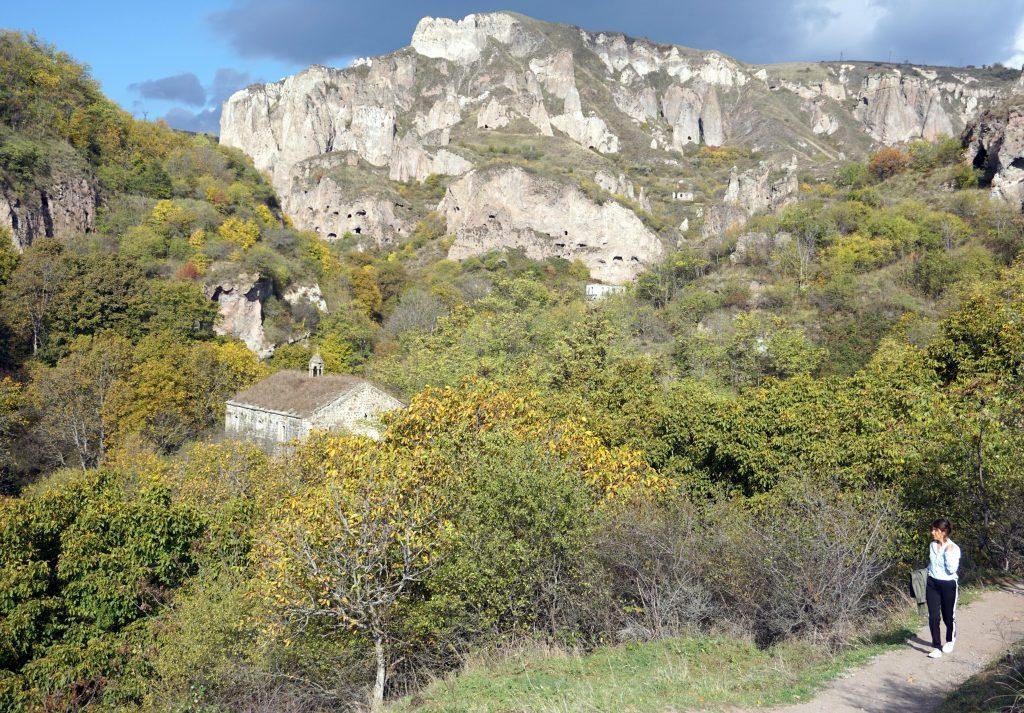 arménie village troglodyte de Khndzoresk