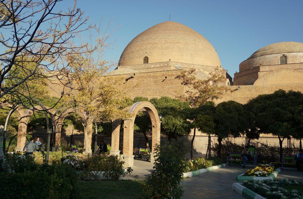 mosquée bleue tabriz iran