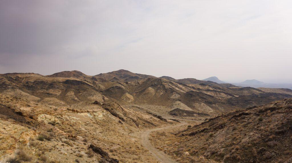 désert en iran