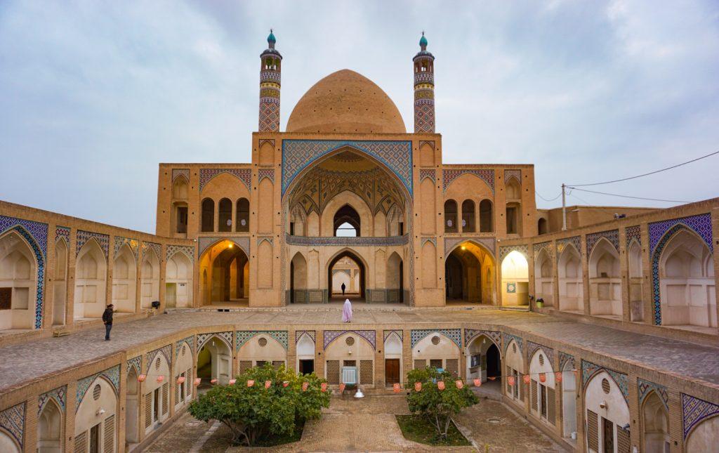 mosquée de kashan en iran