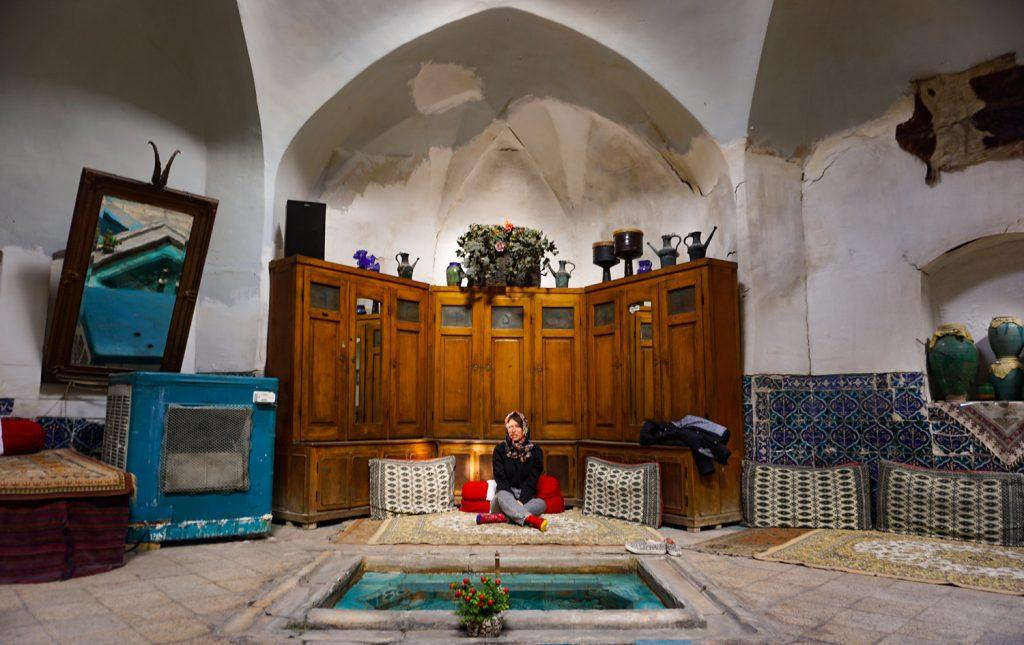 bazar de kashan en iran