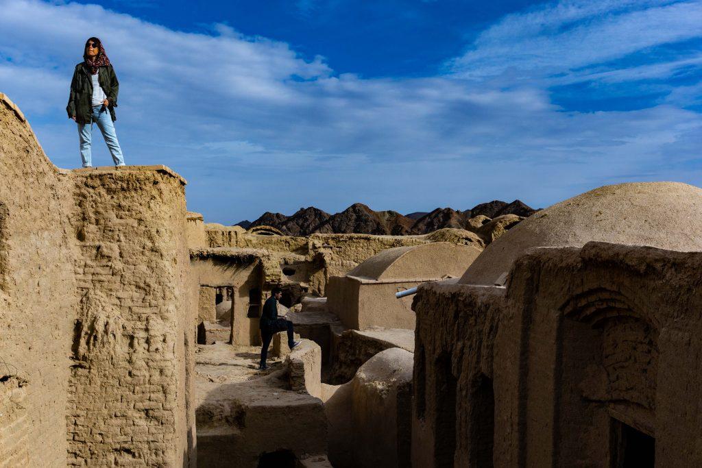iran village fantôme de Kharanaq