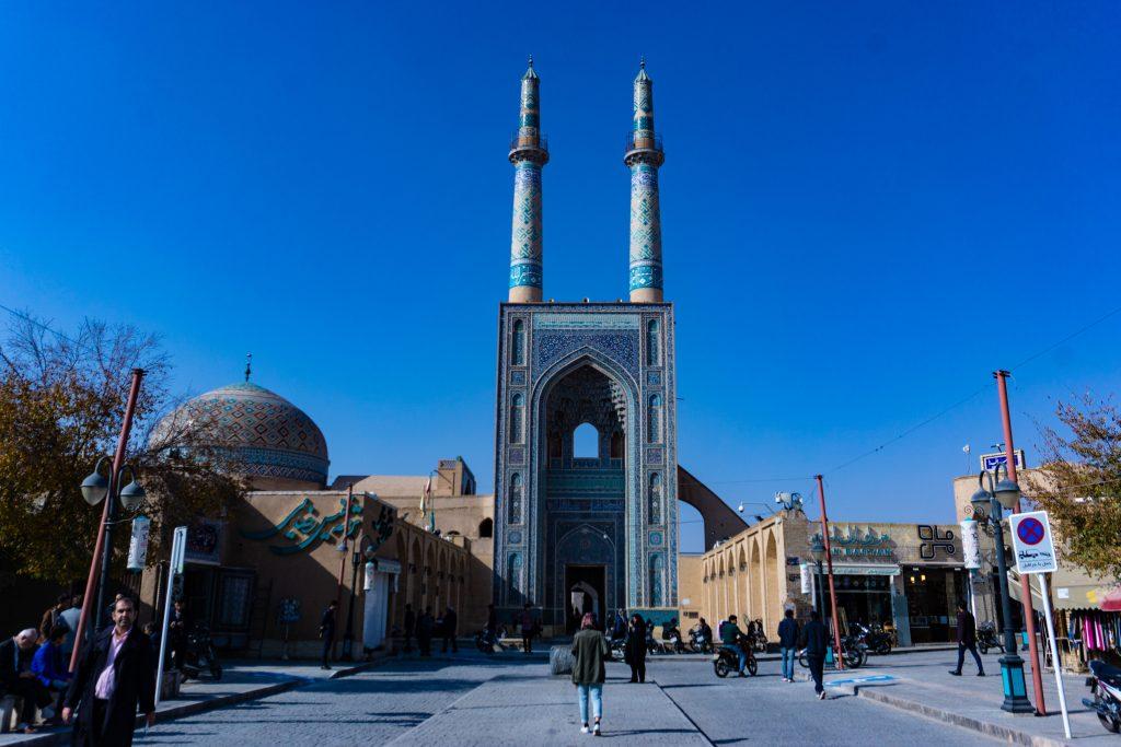 iran Yazd mosquée
