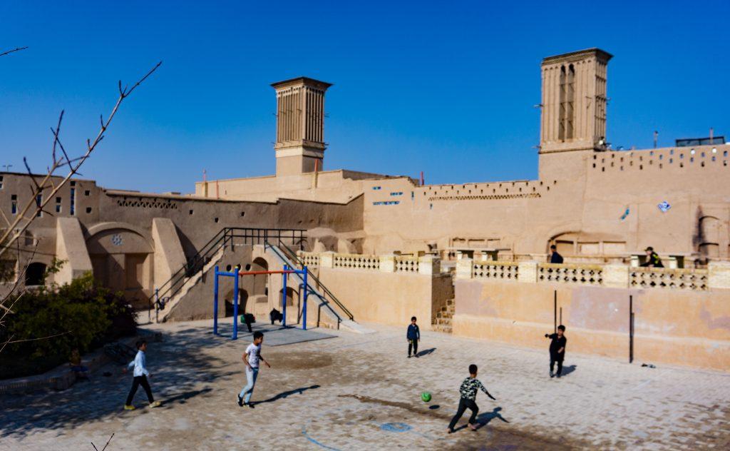 iran vieux quartier de yazd